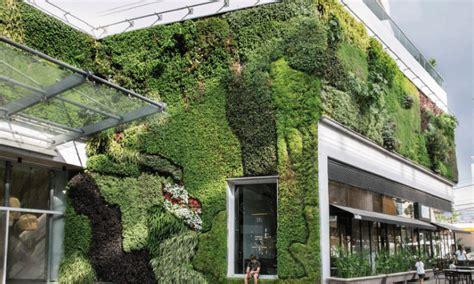 Las ciudades verdes: Fachada vegetal | designable