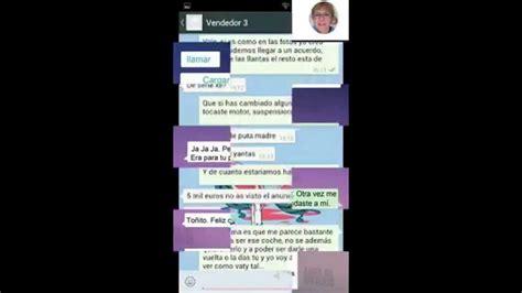las conversaciones mas graciosas de watsapp   YouTube