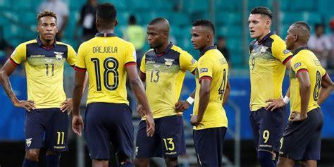 Las cuentas de Ecuador para jugar cuartos de final de la ...