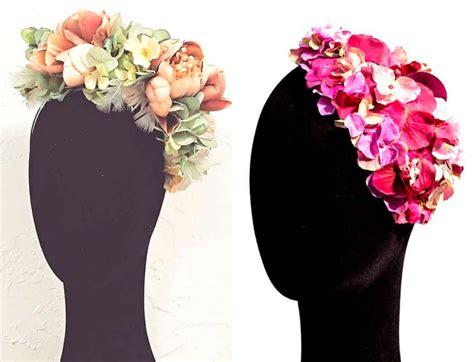 Las diademas de flores para bodas más bonitas