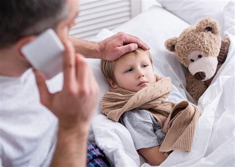 Las enfermedades más comunes en los niños menores de 5 años