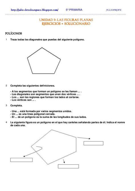 Las Figuras Planas perímetros y áreas Ejercicios ...