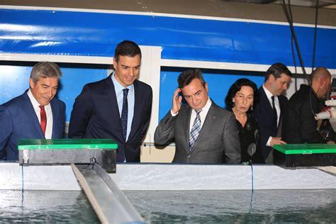 Las fotos de la visita de Pedro Sánchez a Cádiz