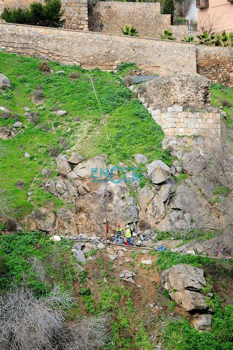 Las fotos de la voladura controlada de piedras en la senda ...