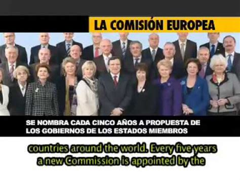 Las Instituciones de la Unión Europea   YouTube