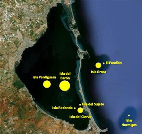 Las islas de La Manga del Mar Menor   Saber es práctico