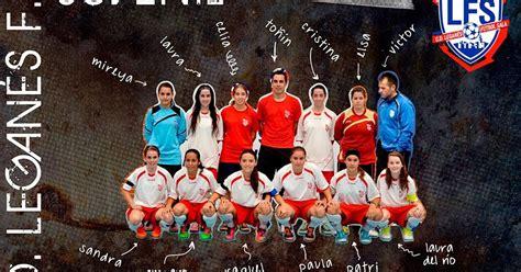 Las juveniles del Club Deportivo Leganés Fútbol Sala se ...