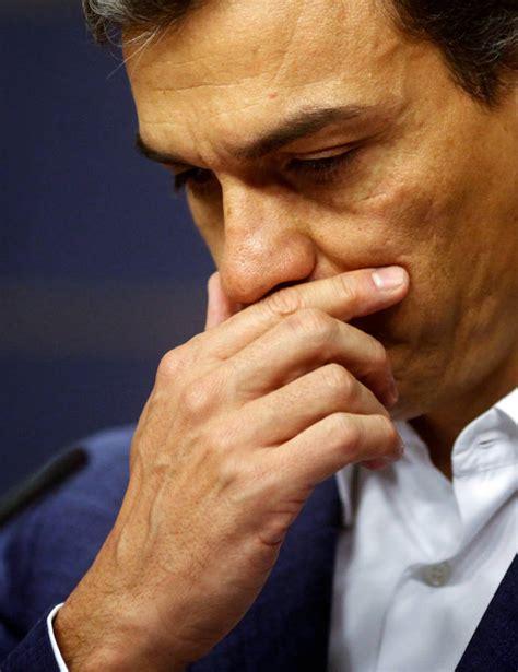 Las lágrimas de Pedro Sánchez en su adiós como diputado