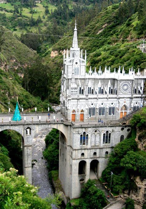 Las Lajas Sanctuary, Ipiales, Nariño, Colombia | Most ...
