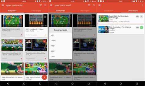 Las mejores aplicaciones para descargar vídeos de YouTube