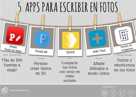 Las mejores aplicaciones para poner texto en las fotos ...