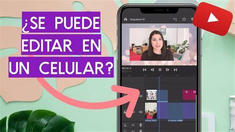 LAS MEJORES APPS PARA EDITAR VIDEOS DE YOUTUBE  6 Editores ...