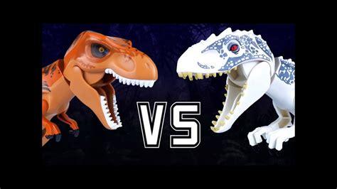 Las mejores batallas de dinosaurios   T Rex velociraptor ...