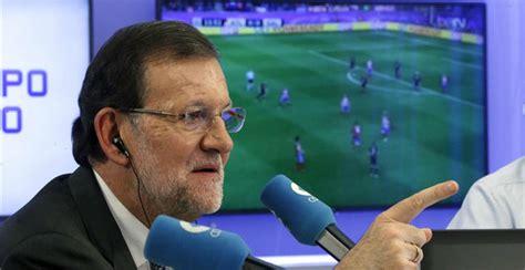 Las mejores frases de Rajoy como comentarista deportivo