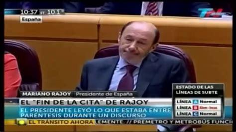 Las mejores frases y momentos de Mariano Rajoy   Parte 3 ...