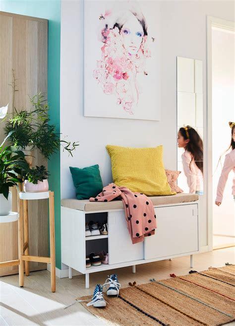 Las mejores ideas de IKEA para decorar recibidores pequeños