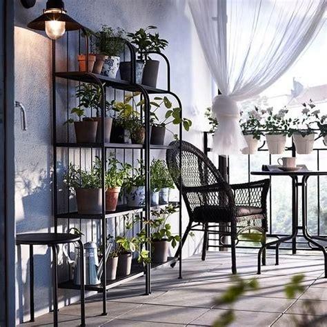 Las mejores ideas Ikea para decorar balcones   Мебель для ...