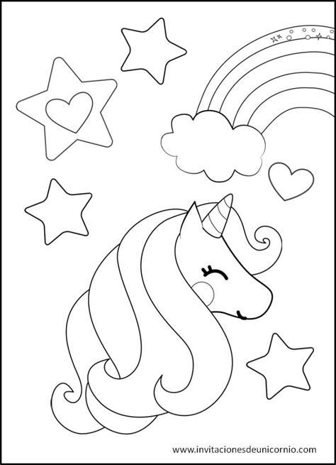 Las Mejores imágenes de Unicornio para colorear gratis【2020】