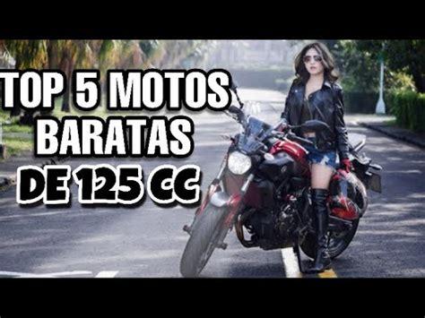 LAS MEJORES MOTOS BARATAS DE 125 CC   2020   YouTube