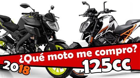 Las mejores motos de 125 cc de 2018   YouTube