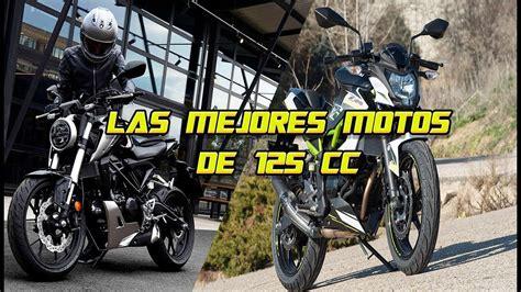LAS MEJORES MOTOS DE 125CC   YouTube