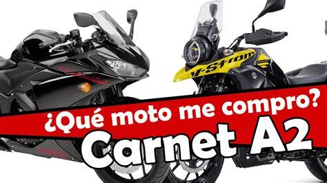 Las mejores motos para el carnet A2 sin limitar   YouTube