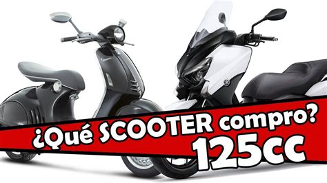 Las mejores scooters de 125 cc en 2017   YouTube