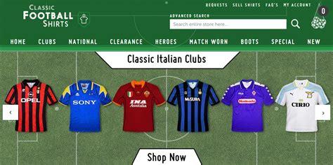 Las Mejores Tiendas Para Comprar Camisetas de Futbol