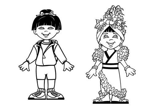 Las Misiones y los Niños: Dibujos para colorear de niños ...