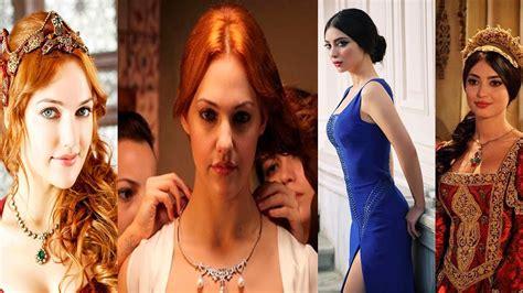 las mujeres mas lindas de el sultan suleiman   YouTube