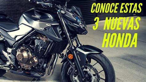 Las nuevas motos de Honda en México ¿Trío ganador?   YouTube