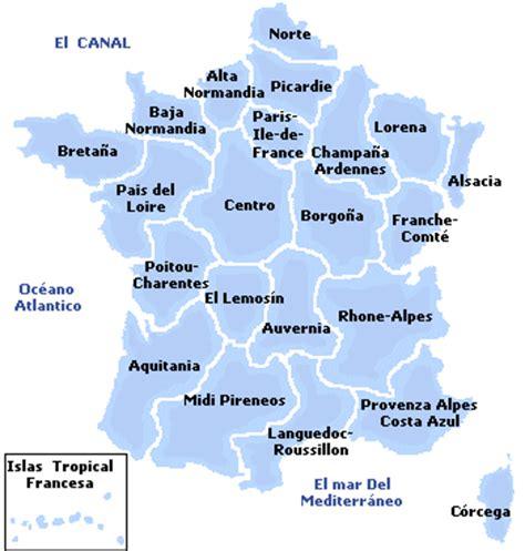 Las nuevas regiones de Francia explicadas Lista de las ...