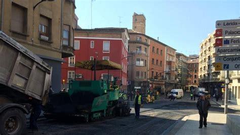 Las obras de asfaltado de viales cortan provisionalmente ...