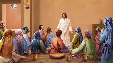 Las palabras de Jesús a Sus discípulos después de Su ...