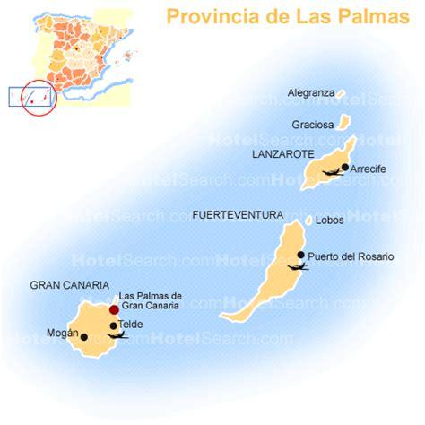 Las Palmas Carte et Image Satellite