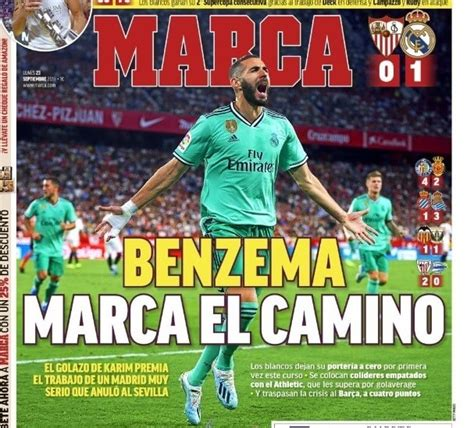 Las Portadas Deportivas 23/09/2019 | Marca, As, Sport ...
