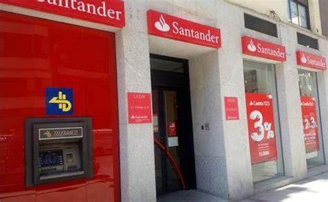 Las sucursales leonesas del banco Santander abrirán por ...