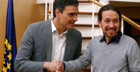 Las tres reuniones anteriores entre Pedro Sánchez y Pablo ...