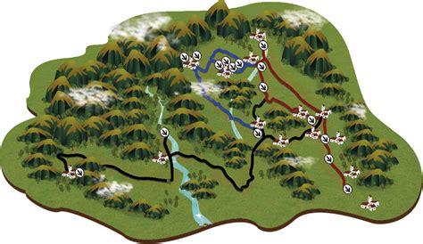 Las tres Rutas de las Icnitas en las Tierras Altas de ...