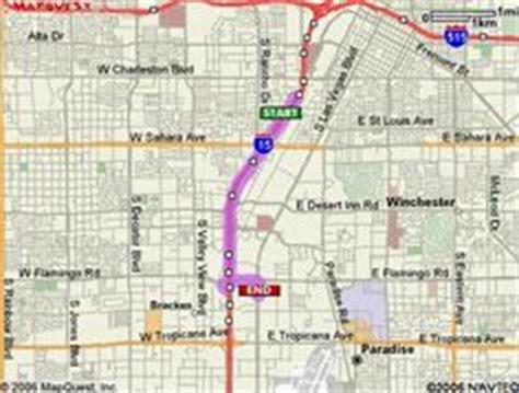 Las Vegas Strip Distance Map   Places to go...   Pinterest ...