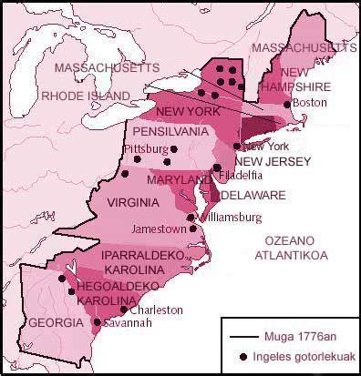 Latest Mapa De Las 13 Colonias De Estados Unidos Para ...