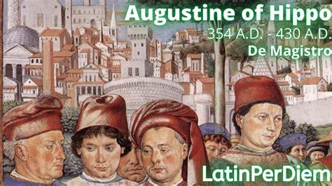 LatinPerDiem Latin Lessons: Augustine of Hippo De Magistro ...