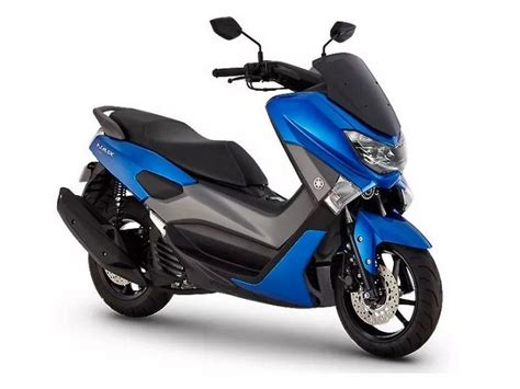 Launched in Japan, Matte Blue Yamaha NMax 125 cc maxi ...