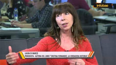 """Laura Di Marco: """"Cristina Fernández, la verdadera historia ..."""