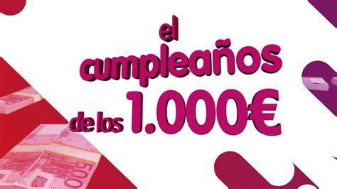 ¡Laura Plaza ha ganado El cumpleaños de los 1.000 euros de ...