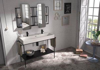 Lavabo Outline blanco 110.5x12x46 cm · LEROY MERLIN ...