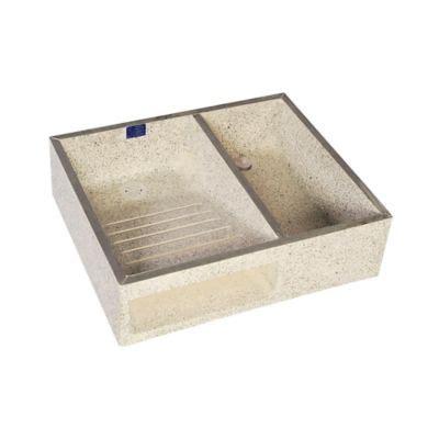 Lavadero 60 cm x 50 cm x 16 cm granito   Prefabricar   55275