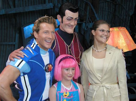 Lazy Town 4 Ever   Cast