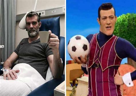 Lazy Town: Actor anuncia que padece cáncer terminal ...