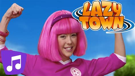 Lazy Town | All Together Music Video   YouTube